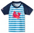 Schiesser Jungen Shirt Bademode Bade-Shirt Mr. Crab Boys AQUA - 145610