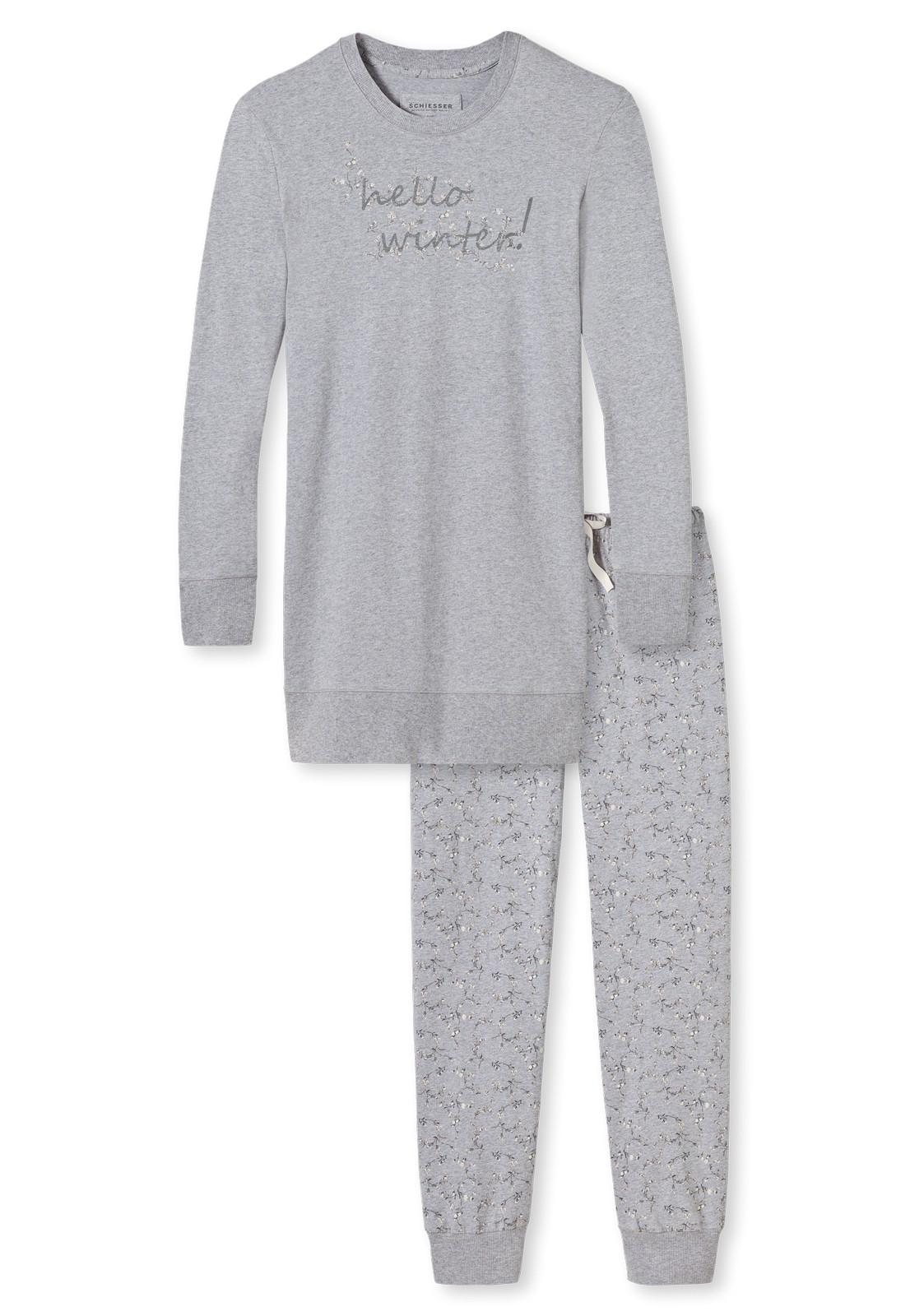 new product a1657 3d050 Schiesser Damen langer Schlafanzug Pyjama Lang Treasure - 149720   KAPS -  Wäsche & mehr - Schiesser - Marc O'Polo - Seidensticker - Lacoste