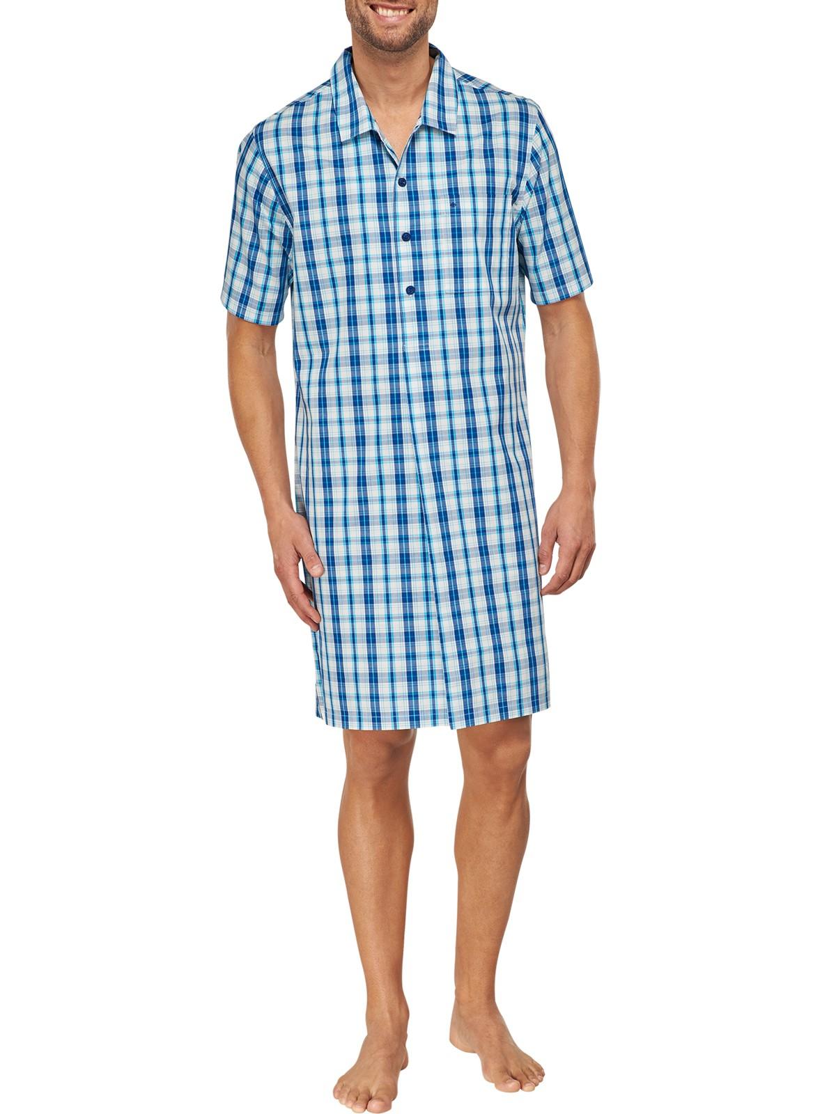 low priced 31fe9 c623c Seidensticker Herren Nachthemd Kurzarm 1/2 - 151416 | KAPS - Wäsche & mehr  - Schiesser - Marc O'Polo - Seidensticker - Lacoste