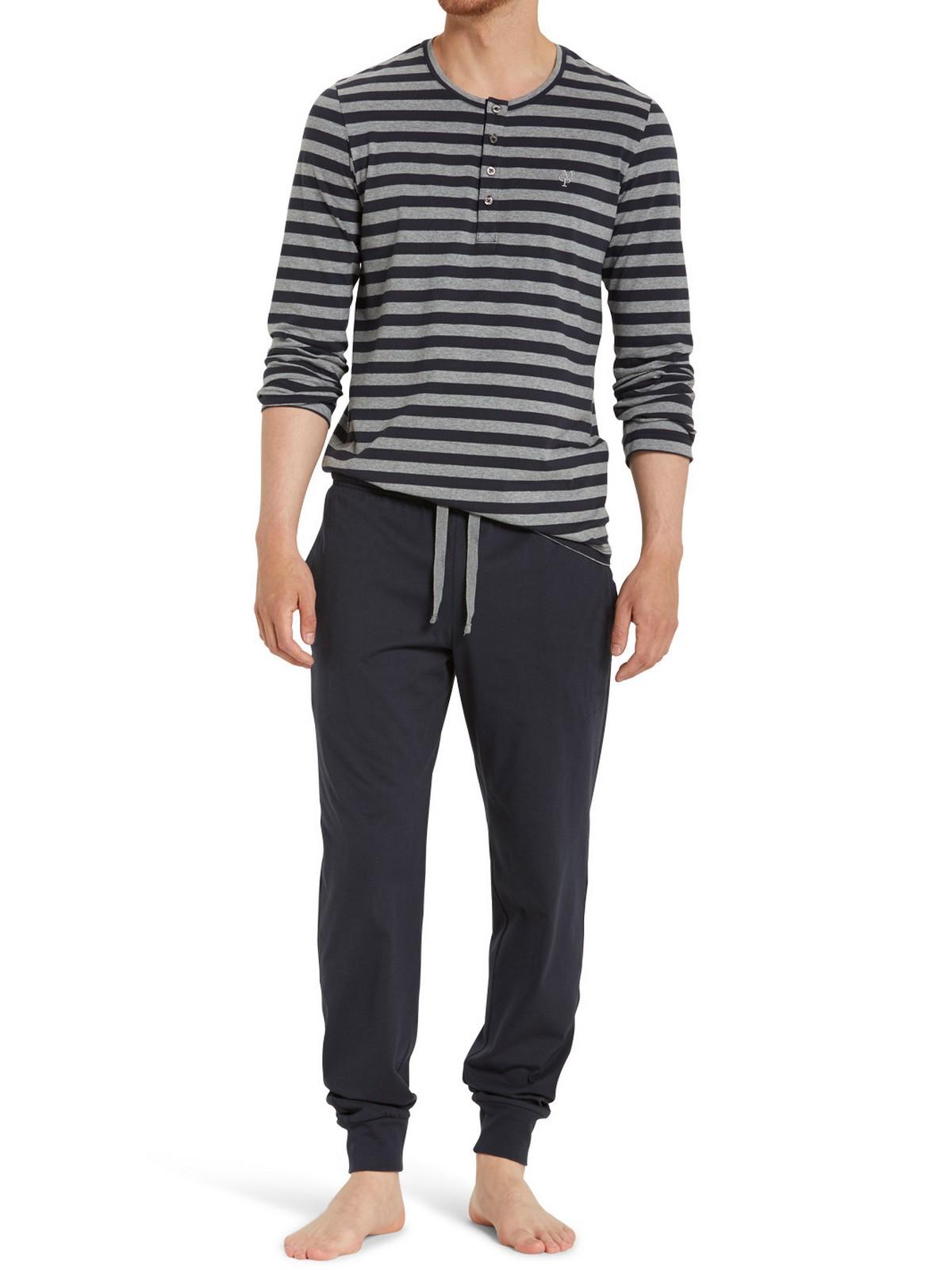 wholesale dealer 053b2 59c07 Marc O'Polo Herren langer Schlafanzug Pyjama Lang Henley - 154529 | KAPS -  Wäsche & mehr - Schiesser - Marc O'Polo - Seidensticker - Lacoste